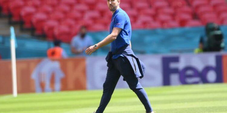 Tottenham Hotspur forward Harry Kane.