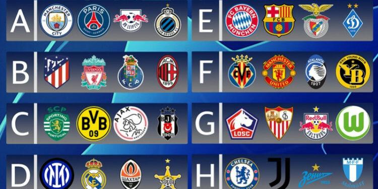Hasil undian grup Liga Champions: Manchester City akan bertemu PSG