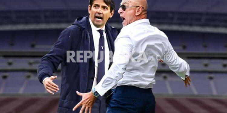 Inter Milan vs Genoa, debut Simone Inzaghi sebagai pelatih Nerazzurri akan berusahai dinodai oleh pelatih Genoa Davide Ballardini (kanan).