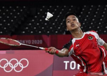 Jadwal Indonesia hari ini: Anthony Ginting berjuang di semifinal