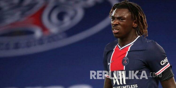 Moise Kean dipinjam Juventus dari Everton.