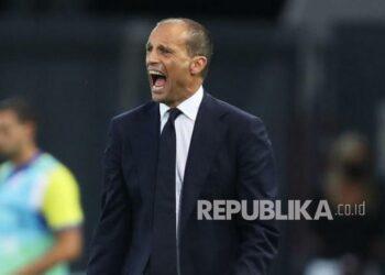 Pelatih Juventus Massimiliano Allegri