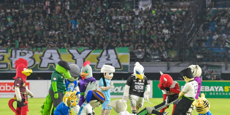 LIB: Seremoni pembukaan Liga 1 tetap dengan 299 orang di stadion