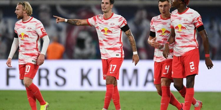 Leipzig petik kemenangan perdana era Jesse Marsch, lumat Stuttgart 4-0
