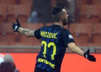 Gelandang Inter Milan, Marcelo Brozovic.