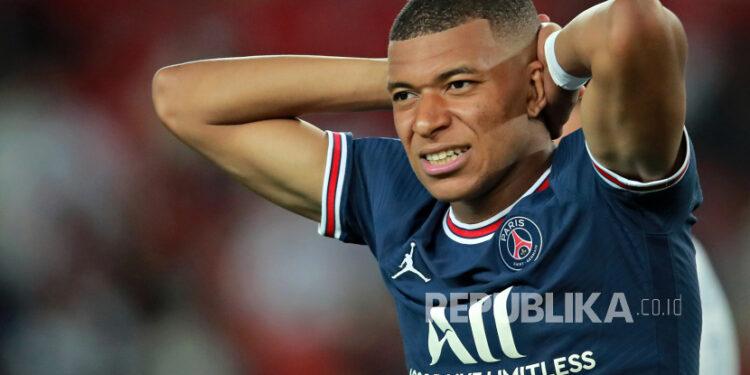 Kylian Mbappe dari Paris Saint Germain.