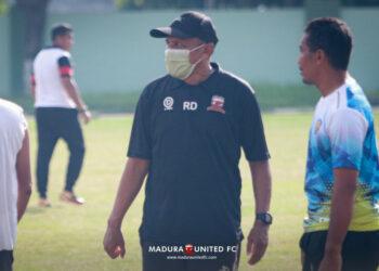 Madura United bersiap geber latihan bersama
