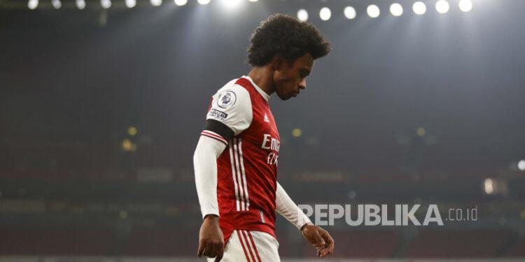 Pemain Arsenal Willian.