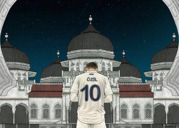 Ilustrasi via IG Mesut Ozil