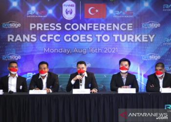 Rans Cilegon FC agendakan pemusatan latihan dan uji tanding di Turki