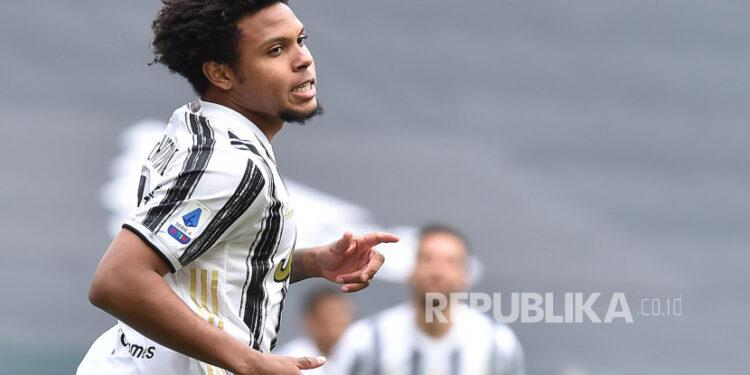 Gelandang Juventus, Weston McKennie.