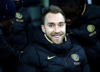 Gelandang Inter Milan Christian Eriksen.