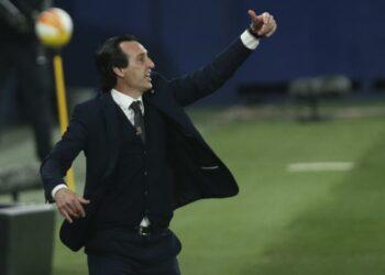 Pelatih Villarreal Unai Emery.