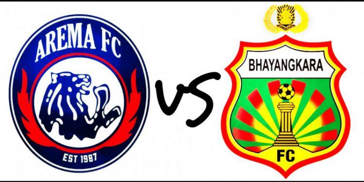 10 pemain Bhayangkara imbangi Arema FC 1-1
