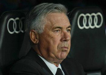 Real Madrid coach Carlo Ancelotti.