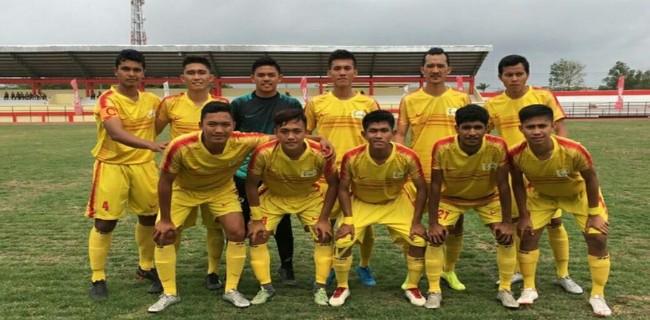 Tim sepakbola Bengkulu   Foto via rmolbengkulu.id