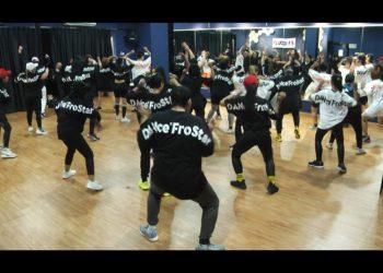 Dance'fro, variasi olah raga baru bagi pecinta Dance Fitness