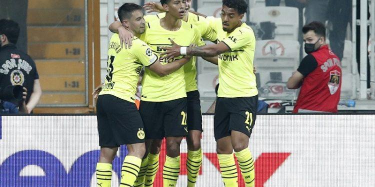 Dortmund kantungi tiga poin penuh dari kandang Besiktas