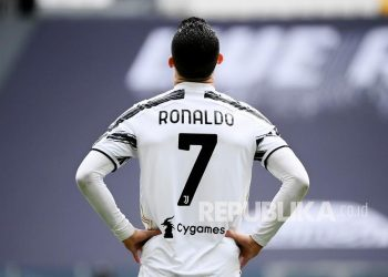 Cristiano Ronaldo while still playing for Juventus.