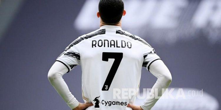 Cristiano Ronaldo saat masih membela Juventus.