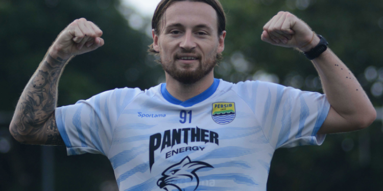 Gol debut Klok bawa Persib menang 1-0 atas Barito Putera