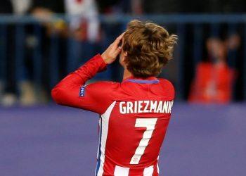 Striker Atletico Madrid Antoine Griezmann.