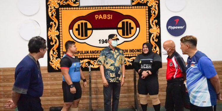 Gubernur Aceh beri semangat kepada Nurul Akmal