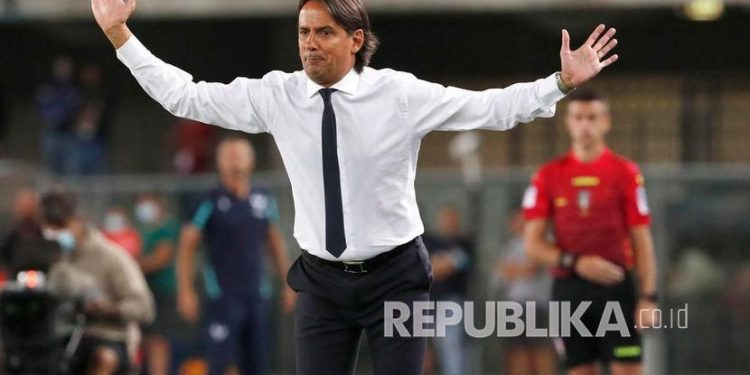 Pelatih Inter Milan Simone Inzaghi