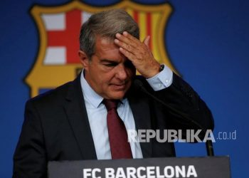 FC Barcelona president Joan Laporta spoke at a press conference to explain the reasons why Argentine forward Lionel Messi did not renew his contract with Barcelona last month.