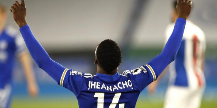 Kelechi Iheanacho dari Leicester.