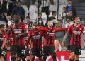Para pemain AC Milan (ilustrasi).