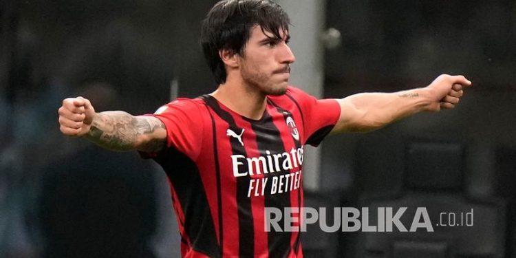 Sandro Tonali, pemain muda dari AC Milan.