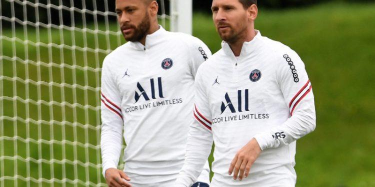 PSG siap turunkan Messi dan Neymar lawan Brugge di Liga Champions