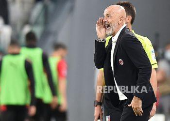 Milan head coach Stefano Pioli.