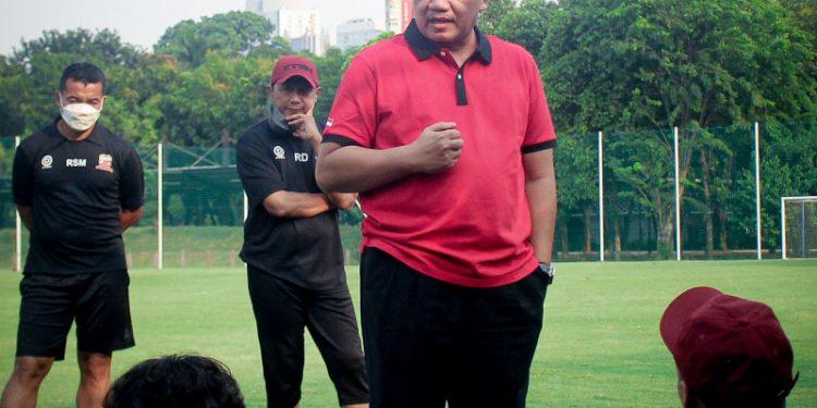 Presiden Madura United minta pemain bermain secara profesional