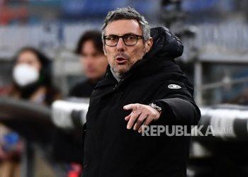 Pelatih Udinese Luca Gotti.