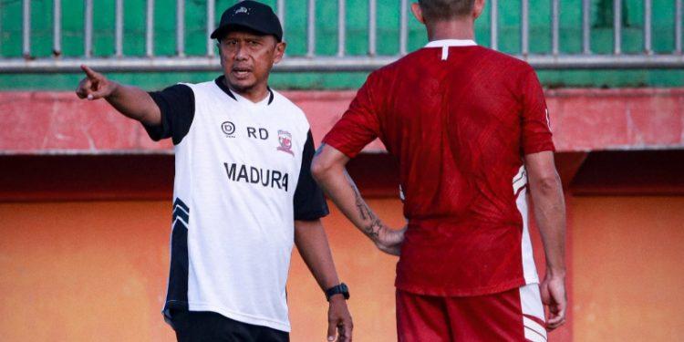 RD minta Madura United bermain lepas kontra Tira Persikabo
