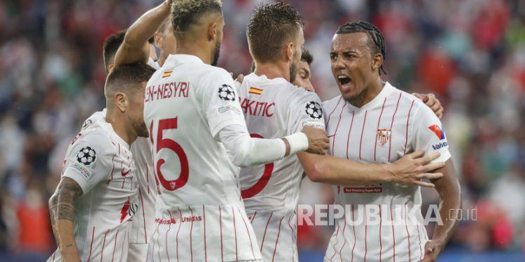 Para pemain Sevilla (ilustrasi)