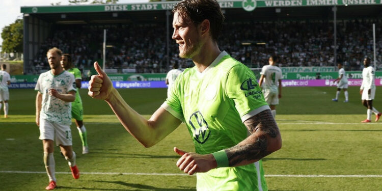 Wolfsburg jaga puncak klasemen selepas menang di markas tim promosi