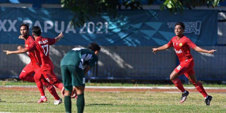 Aceh ke final sepak bola putra PON Papua usai jungkalkan Jatim