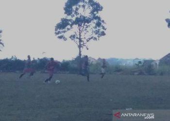 Animo pesepak bola ikuti seleksi pemain Persiku Junior tinggi