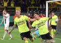 Dwigol Thorgan Hazard antar Dortmund melenggang ke 16 besar DFB Pokal