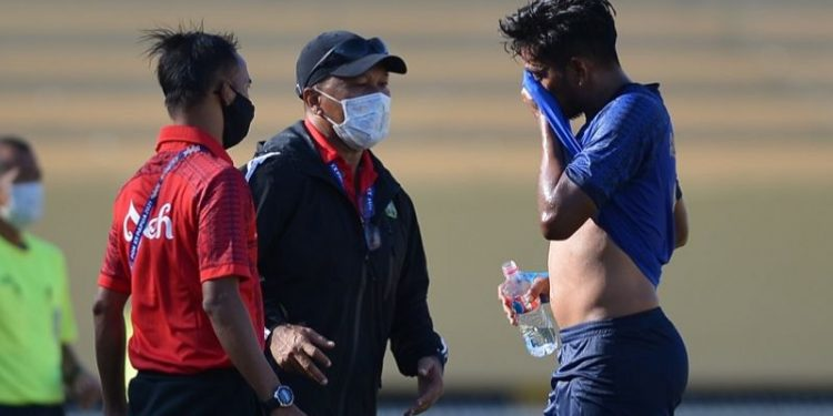 Fakhri Husaini yakin Aceh lolos ke semifinal sepak bola putra PON