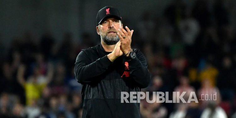 Manajer Liverpool Jurgen Klopp.