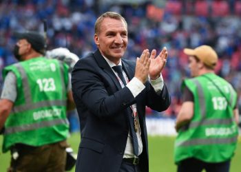 Manajer Leicester Brendan Rodgers
