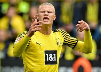 Striker Borussia Dortmund, Erling Haaland.
