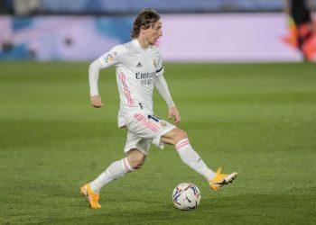 Luka Modric dari Real Madrid.
