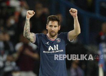 Bintang Paris Saint-Germain (PSG), Lionel Messi.