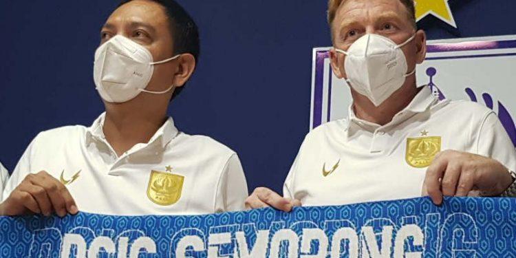 PSIS Semarang resmi kenalkan pelatih Ian Andrew Gillian