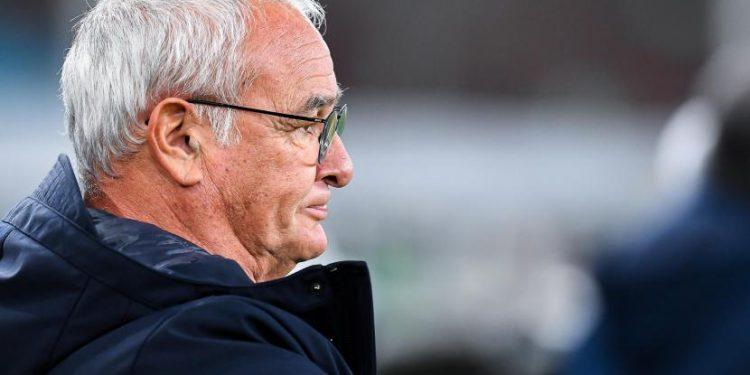 Pelatih Italia Sampdoria Claudio Ranieri sebelum pertandingan sepak bola Serie A Italia Uc Sampdoria vs Genoa Cfc di stadion Luigi Ferraris di Genoa, Italia, 01 November 2020.